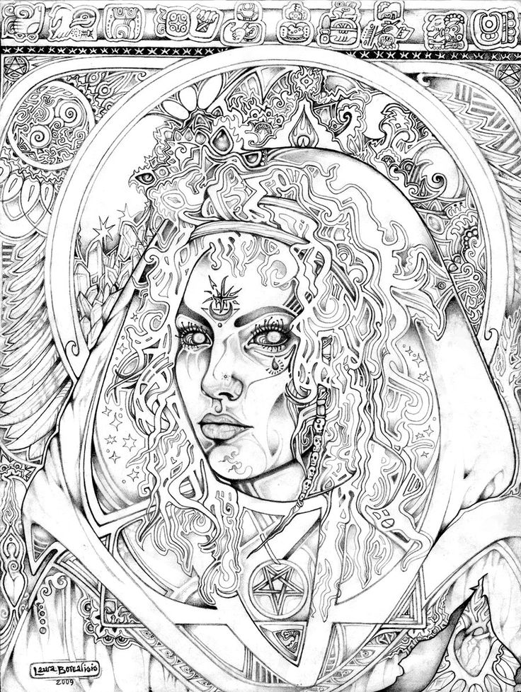 magical fairies coloring pages - photo#50