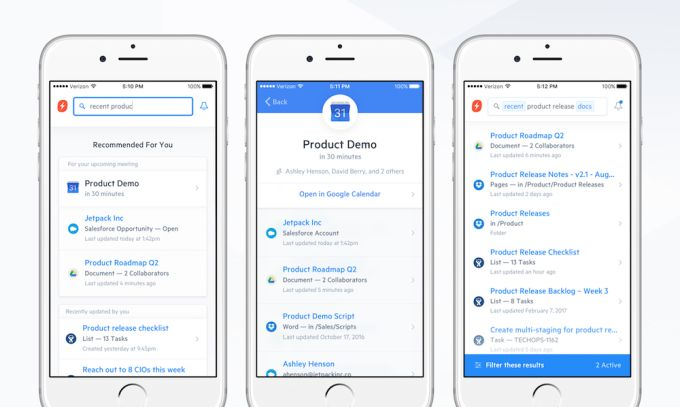 Swiftype launches a new product to help companies search across Dropbox Office G Suite and more #Startups #Tech