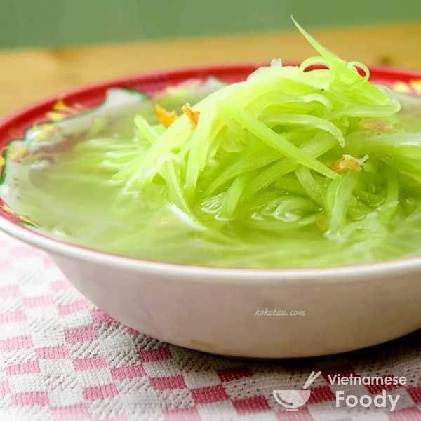 Opo Squash , a popular light green– skinned Asian gourd, shows off its delicate sweetness in Vietnamese Opo Squash Soup (Canh Bau), which blends the opo with chicken...