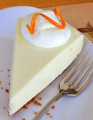 citrus ricotta cheesecake
