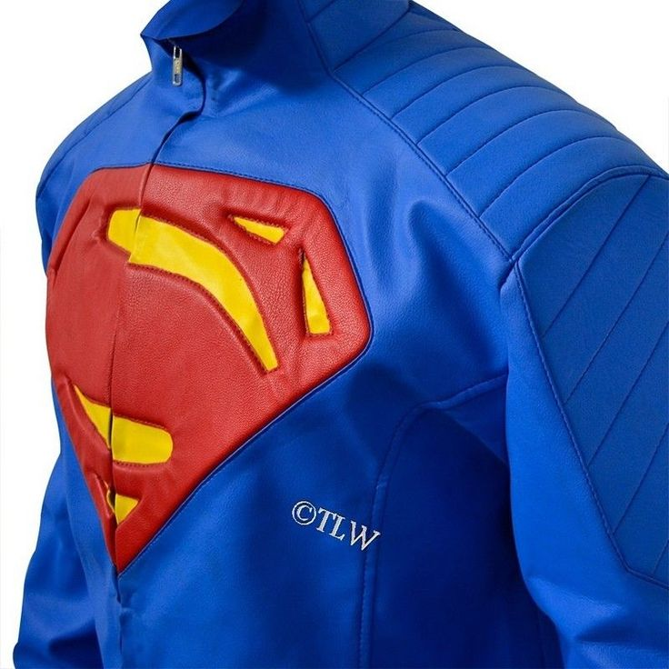 """Inspired by the famous Superman - Man of Steel Movie in 2013, Jacket is similar to """"Superman Suit"""". Jacket has been meticulously designed with a complete attention to detail. The chest has a """"S"""" embossed on it. 