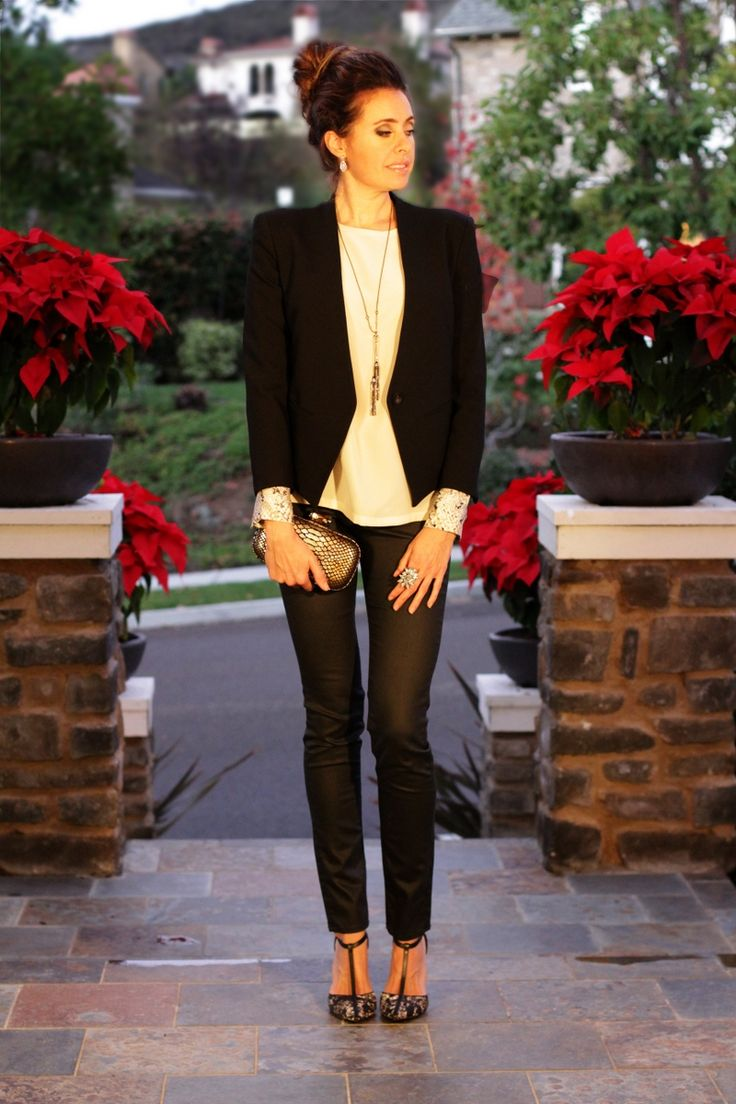 classy holiday outfit | Style Safari | Pinterest | Classy, Holiday ...
