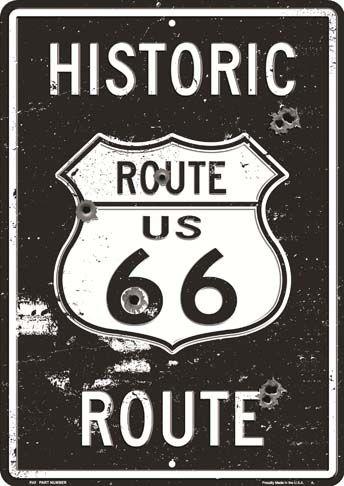 21322. ROADSIDE - ROUTE 66 - US - 29x41-.jpg