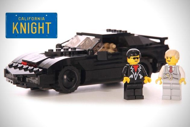 LEGO Knight Rider LEGO Set Hits The Scene