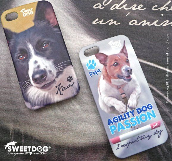 DOG: Kaos (Border Collie) & Pepe (Jack Russel Terrier) - personalized iPhone covers