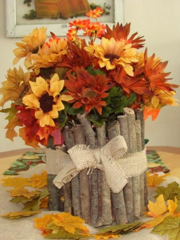 90 best fall themed decorations images on pinterest fall for Fall colors living room ideas