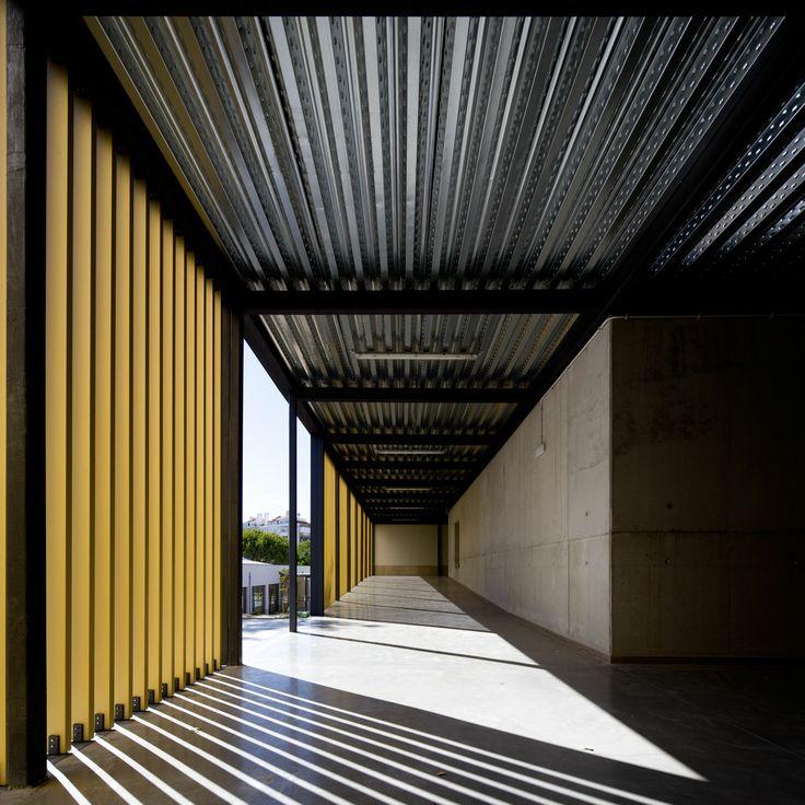 Atelier Central Arquitectos . Vergílio Ferreira School . Lisboa . Portugal © Fernando Guerra, FG+SG Architectural Photography