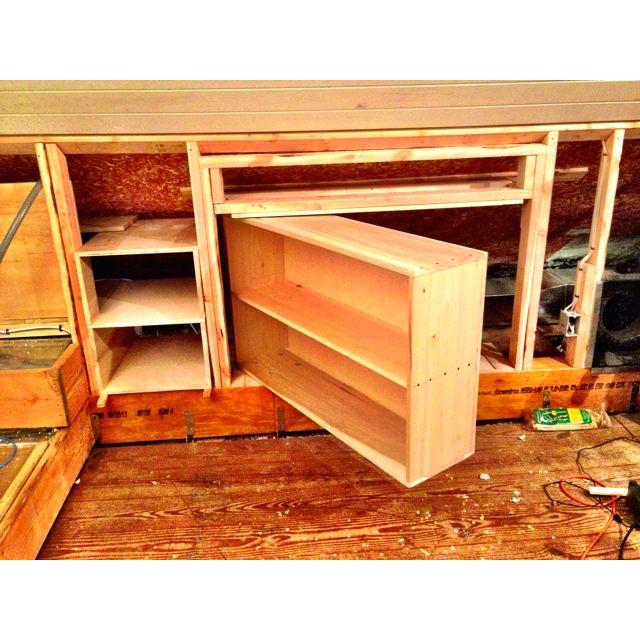 best 25 attic access door ideas on pinterest crawl. Black Bedroom Furniture Sets. Home Design Ideas