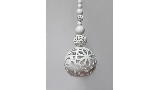 """ceramic lamp """"Oriental dream"""" design by joanna bylicka"""