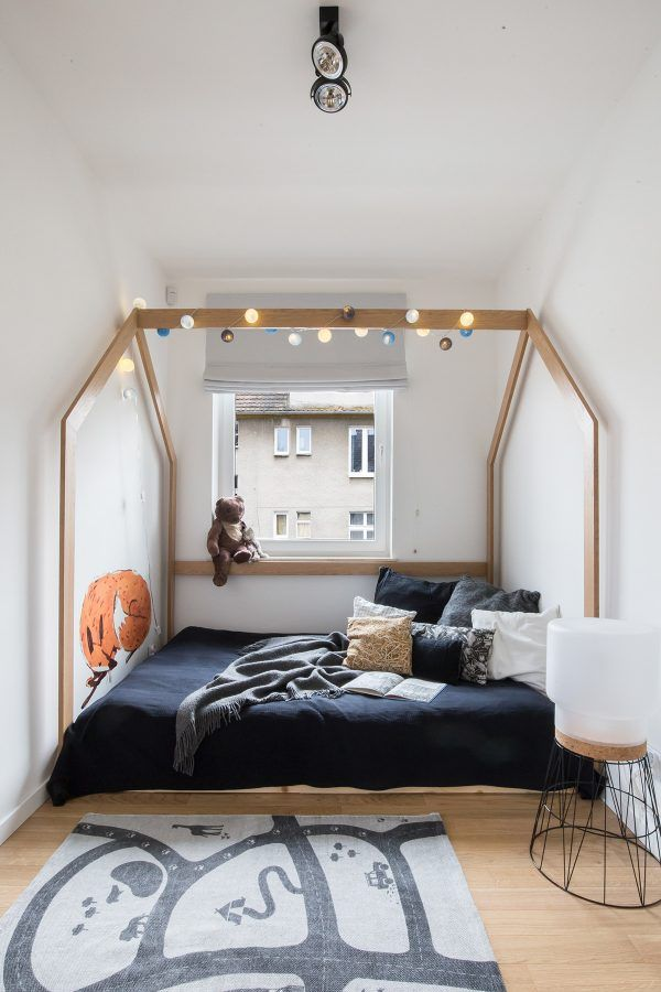 Scandinavian Style Interior With Pink And Blue Accents Scandinavian Style Furniture Scandinavian Bedroom Kids Scandinavian Style Interior