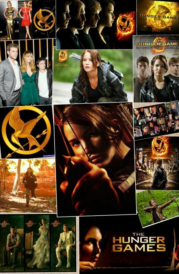Katniss Peeta and Gale, I made the collage | The Hunger ...