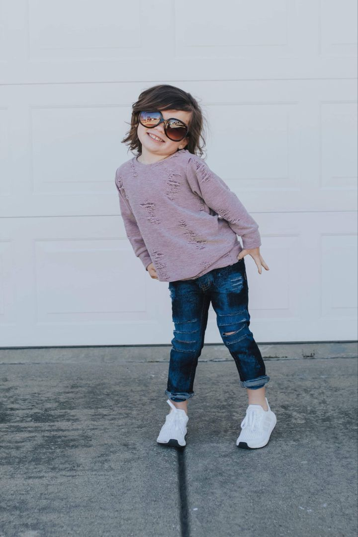 Distressed Girls Sweater Pullover - Soft Solid Thistle Pink, Sage, Charcoal  Kids Sweatshirt - Stretchy Knit Spring Winter Long Sleeve Top | Girls  sweaters, Motherhood clothes, Etsy dresses