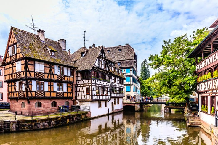 Strasbourg, France jigsaw puzzle in Bridges puzzles on TheJigsawPuzzles.com