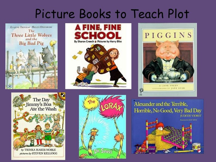 These books have rich plots. Reading these books as read alouds and pulling elements the author uses to unfold the plot can help teach students effective ways to write.