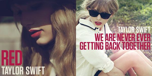 Taylor Swift new album - Red. Loving the Red Lipstick!