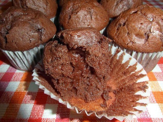 MAGDALENAS DE CHOCOLATE Y NATA | Aroma de Limón