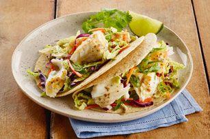 Brisez la routine avec ce plat succulent et vite fait: le mélange de vinaigrette à l'italienne et de tartinade MIRACLEWHIP rehausse à merveille la saveur de la garniture de poisson grillé, de salade de chou et d'oignons verts. Toute la famille en redemandera!