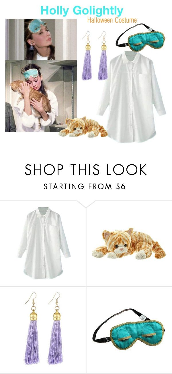 """""""Holly Golightly Costume"""" by margscrawf on Polyvore featuring women's clothing, women's fashion, women, female, woman, misses and juniors"""