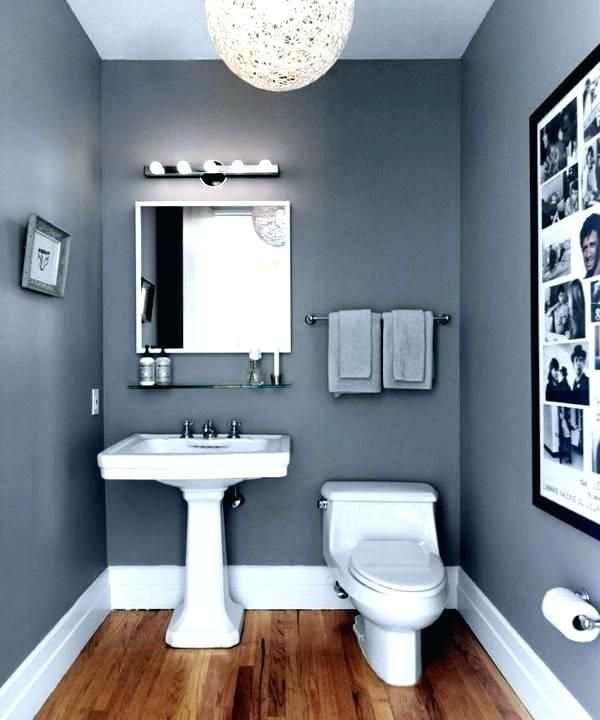 Infuse Color For Your Small Bathroom Wall Paint Color Ideas In 2020 Bathroom Wall Colors Small Bathroom Paint Small Bathroom Remodel