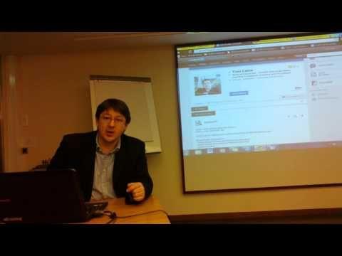 ▶ Tom Laineen vinkit akateemisille työnhakijoille - YouTube