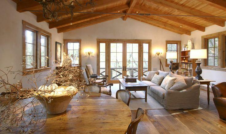 Landelijk Cottage Pergola S Interieur Ramen