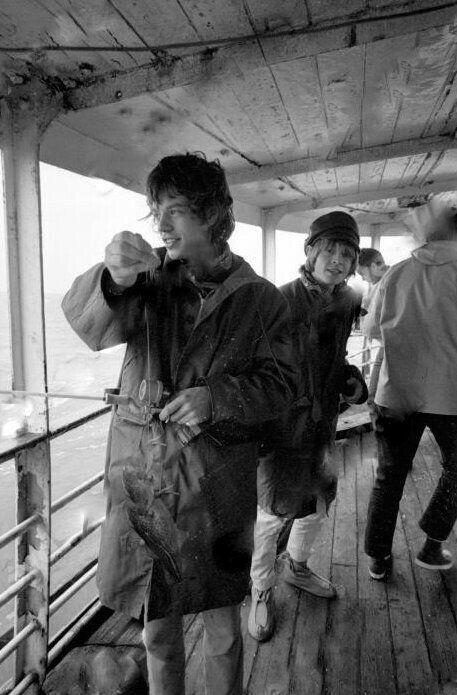 Mick Jagger and Brian Jones