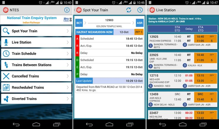 #NTES App Download: National #Train Enquiry System from Indian #Railways