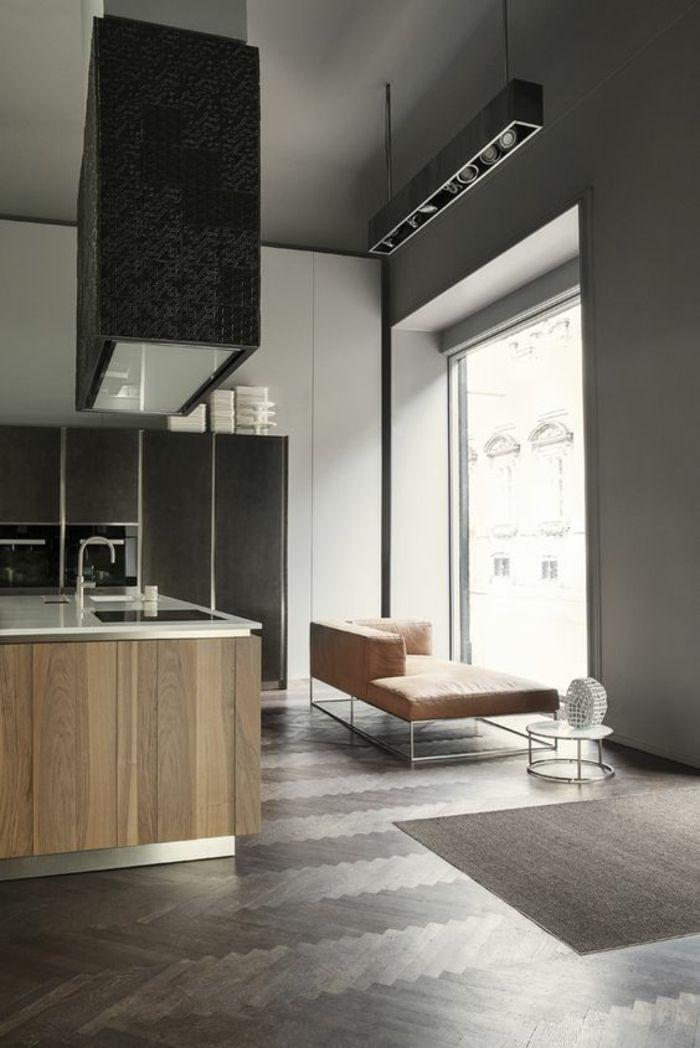 1001 Idees Pour Cuisine Noire Des Conseils Comment L Amenager Selon Les Tendances Interior Architecture Interior Design Modern Kitchen Design