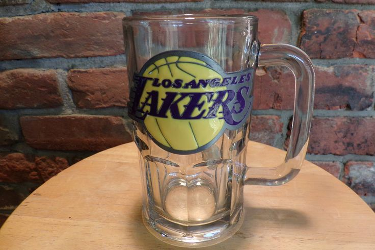 Los Angeles Lakers 20oz. Root Beer Mug, Los Angeles Lakers Mug, Large mug, Lakers mug by Morethebuckles on Etsy