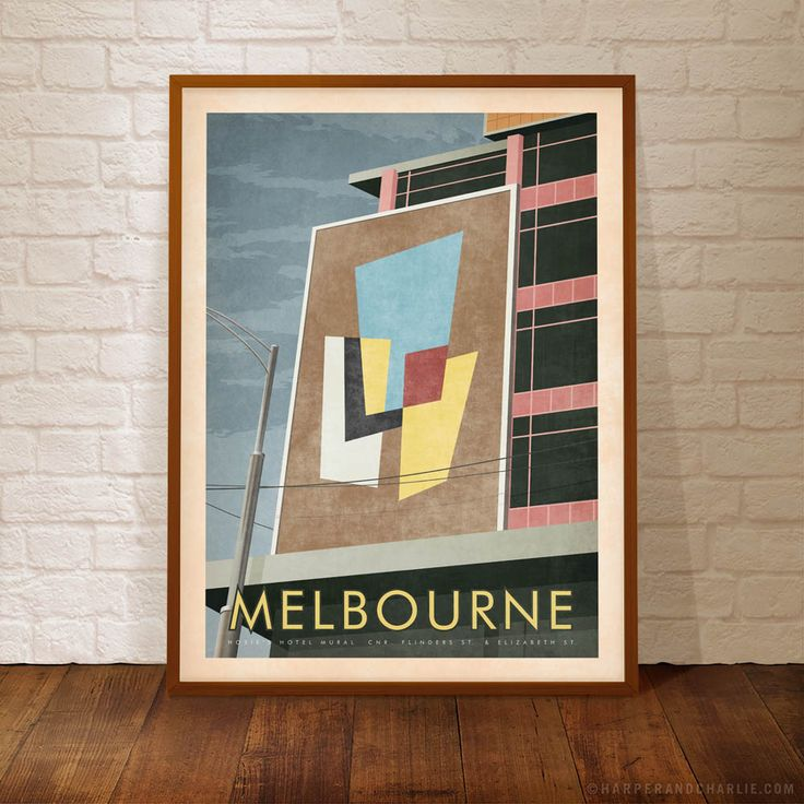 HOSIES HOTEL MELBOURNE MURAL