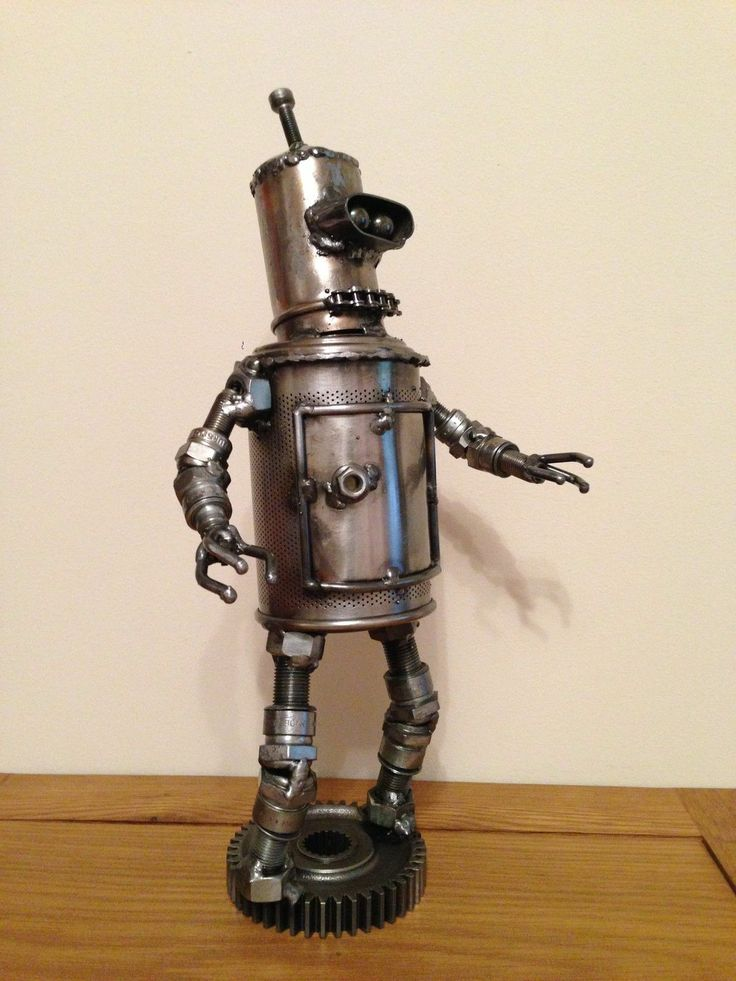 futurama robot 39 blender 39 made from scrap metal recycle recraft and reuse pinterest scrap. Black Bedroom Furniture Sets. Home Design Ideas