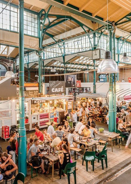 Markthalle Neun is a great way to get a taste of Berlin's best restaurants—present and future.