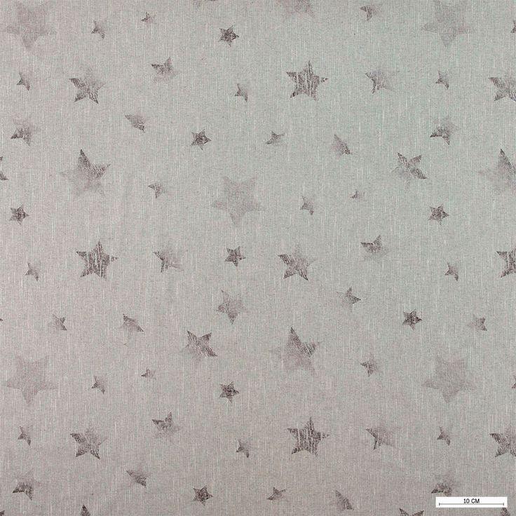 815868 Hørlook grå m batik mørk grå stjerner