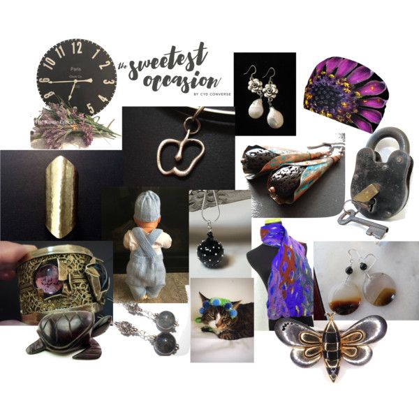 For the Sweetest Occasion by anna-recycle on Polyvore featuring modern, rustic and vintage