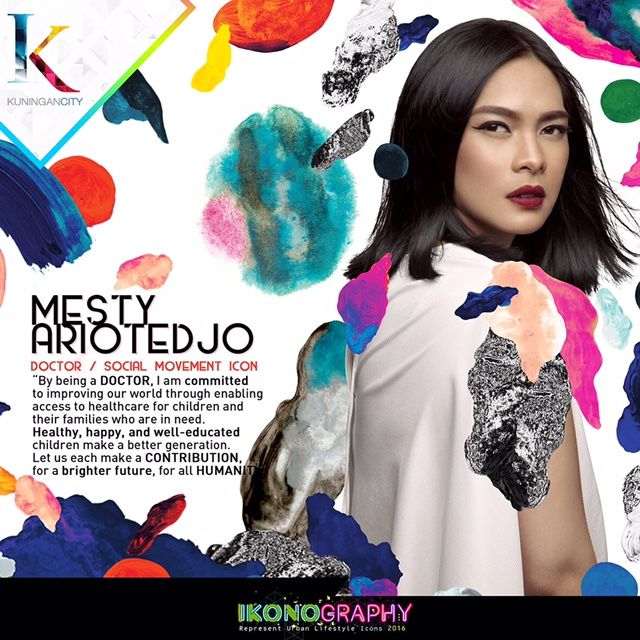 Mesty Ariotedjo Doctor/Social Movement Icon Ikonography 2016