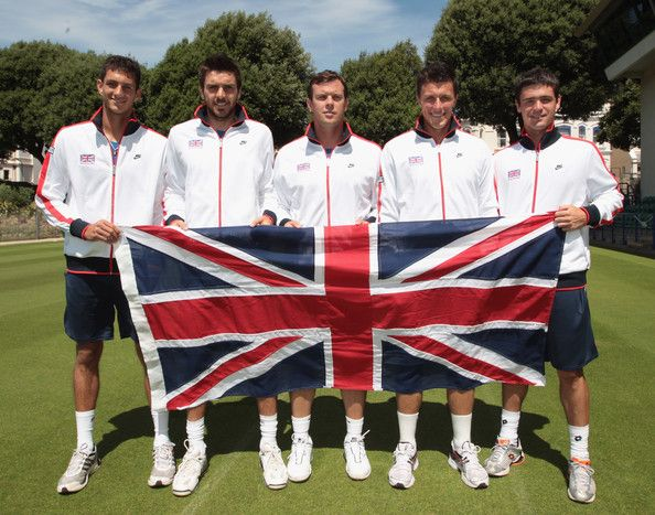 James Ward Photos: Great Britain v Turkey - Davis Cup Previews