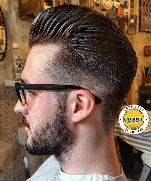 Another #goodlookoftheday from @alexhaircuts one of our favorite #ParisianBarbers. He used #Layrite #Original to style this #pompadour Want to get noticed for the #GoodLookoftheDay? 1) Tag us in photo 2) Use #lookatmelayrite 3) Please please tell us what was used. In this case : #Layrite #Original and #layriteoriginal #barbers #barbershops #styledwithlayrite #layritestyle #menshair #mensgrooming #haircut #hairstyle #mensstyle #menshairstyle #hairstyling #menshairstyling #tonsorialarts…
