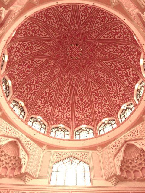 Pretty in pink architecture in Malaysia.    #MoreMoneyMoreTravel #HandsOffMyKielbasa #OPIEuroCentrale