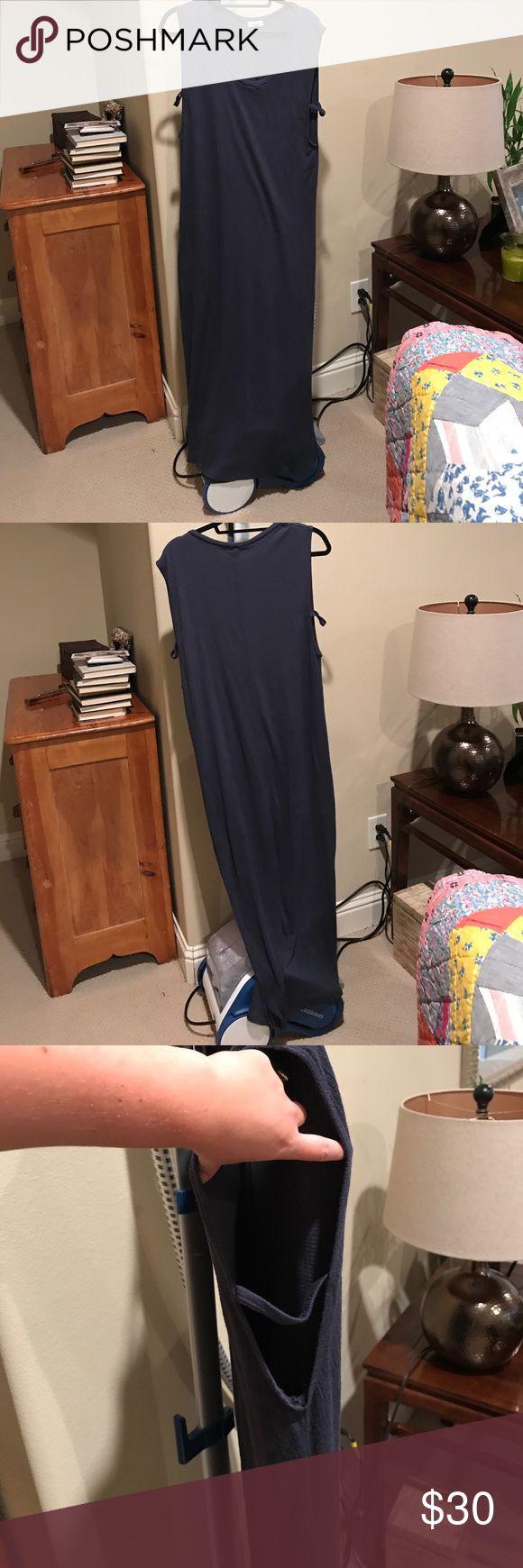 Navy maxi dress Navy maxi dress. From Nordstrom LNA Dresses Maxi
