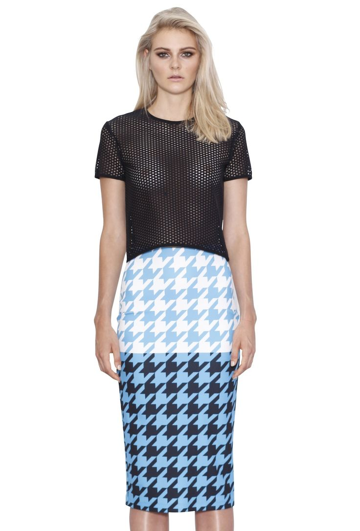 HOUNDS T PENCIL SKIRT #byjohnny #GALLERY #WINTER2015 #AUSTRALIANFASHION