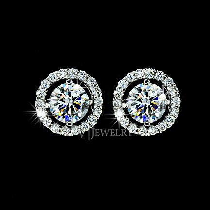 Hey, I found this really awesome Etsy listing at https://www.etsy.com/listing/177776855/stud-round-cut-cubic-zirconia-earrings