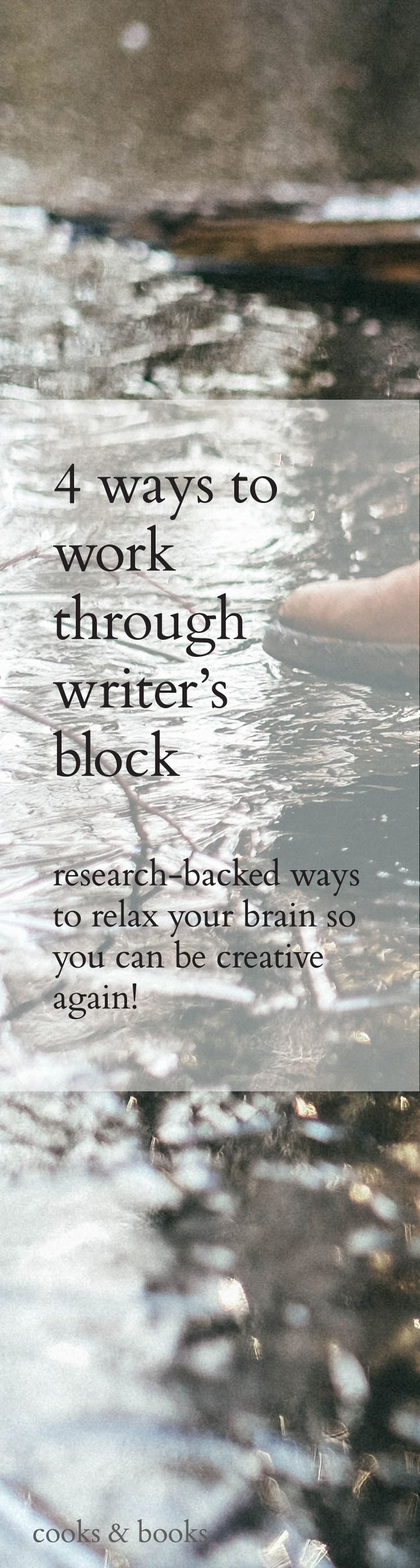 4 Ways To Work Through Writer's Block | Writer's block happens to the best of us; what matters is how you deal with it. Click through for 4 ways to get past writer's block writersrelief.com