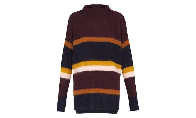 Stevie Stripe Mohair Knit