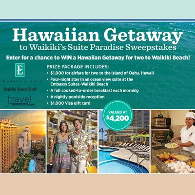 Travel Meredith: Win A Hawaiian Getaway to Waikiki's Suite Paradise!