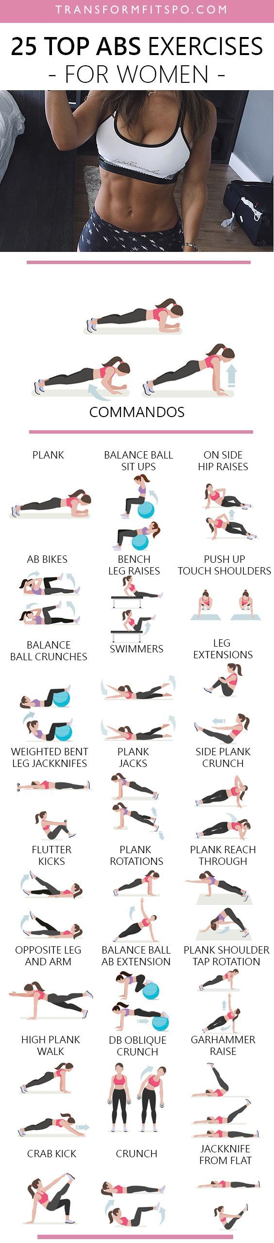 Repin and share if you liked this massive workout list! http://amzn.to/2s1pFNY
