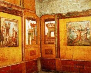 76 les meilleures images concernant fresques romaines sur for Decoration maison romaine