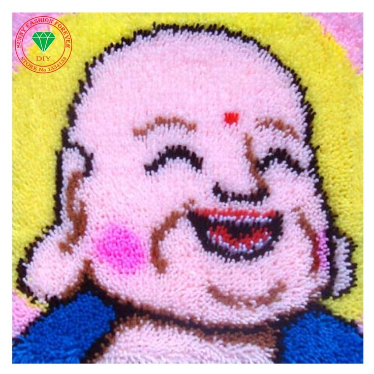 Religion Needlework Cross-stitch carpet cushion Patchwork Pillowcase diy pillowcase embroidery thread Latch hook rug kit Craft #Affiliate