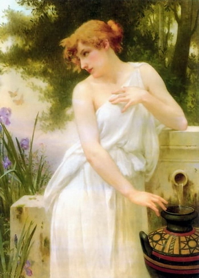 Beauty At The Well Guillaume Seignac