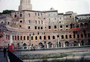 Trajan's Market - the first indoor shopping mall, and the model for all other malls since then!