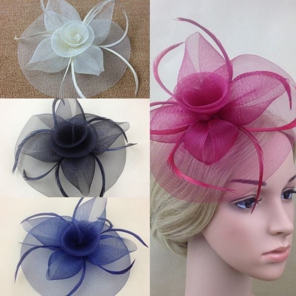 New Girl Fascinator Hat Clips Hairpins Hair Accessories Wedding Party Church Hot #Unbranded #FascinatorHatHairClip #WeddingPartyChurchLadiesDay
